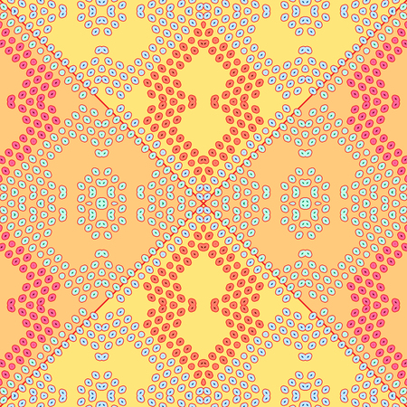 pear shaped: bubbles colorful texture, abstract seamless pattern, vector art illustration Illustration