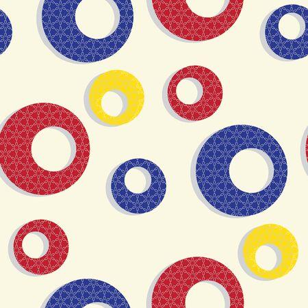 pear shaped: flowers seamless texture, abstrat seamless pattern, vector art illustration