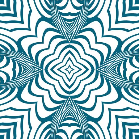 stripy: stripy twisted curved background, abstract seamless pattern, vector art illustration Illustration