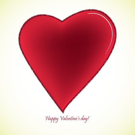 causal: happy valentines day card, abstract vector art illustration, image contains gradient mesh
