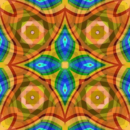 seamless squared textures, abstract pattern, art illustration Illustration
