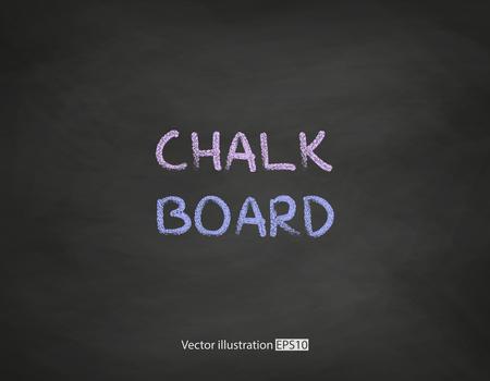 Zwart bord background.Vector illsutration