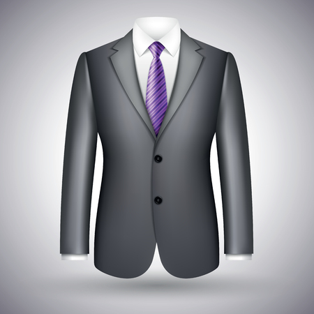 elegant business suit