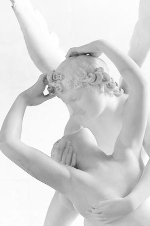 psique: Escultura de Eros y Psique de Canova