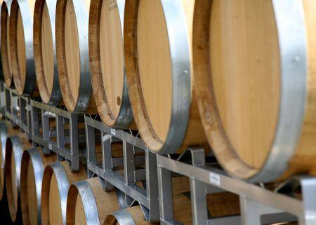 casks: Angled Wine Casks