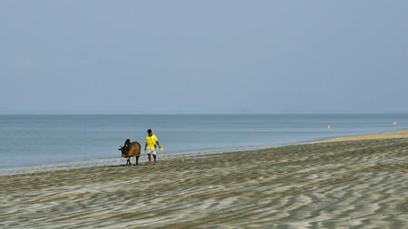 chan: Tain Chan Beach Thailand Stock Photo