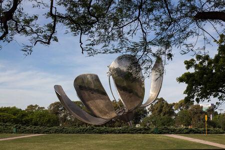 Flower Sculpture - Argentina