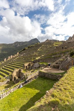 Machu Picchu Terraces - Peru