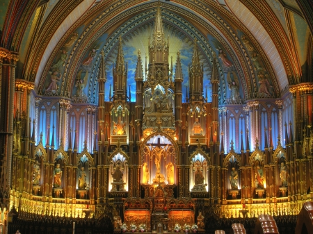 Notre Dame Cathedral - Montreal Canada