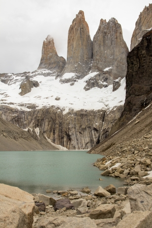Torres del Paine towers - Chile
