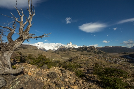 View to Mont Fitz Roy - Argentina