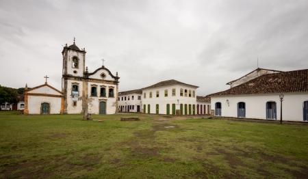 Church at Paraty - Brazil