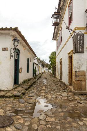 Cobbled Street - Paraty Brazil