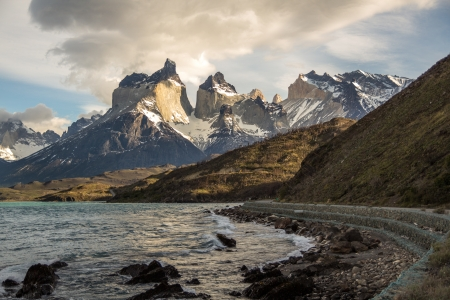 Cuerno s - Torres del Paine Chile photo