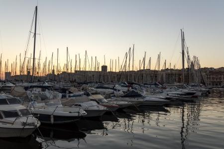 Docked Boats - Marseille France