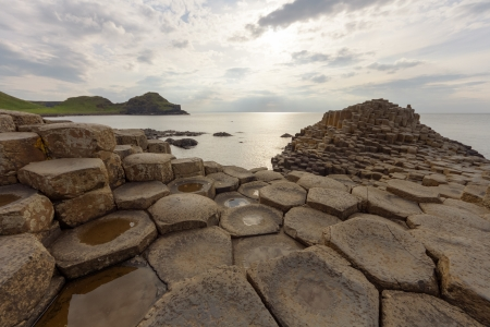 Giants Causeway - Ireland Stock Photo