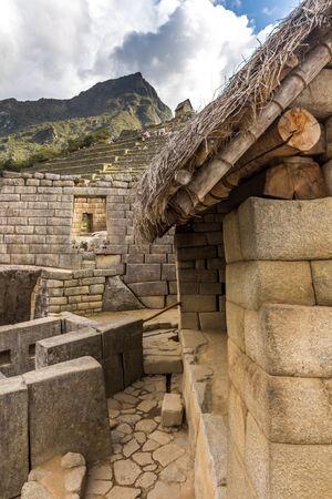 Machu Picchu Ruins - Peru