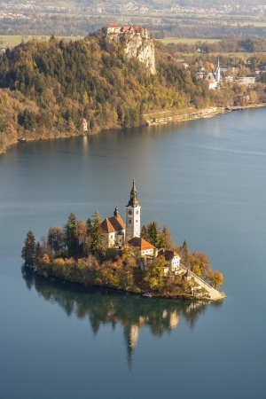 Monestery - Lake Bled Slovenia