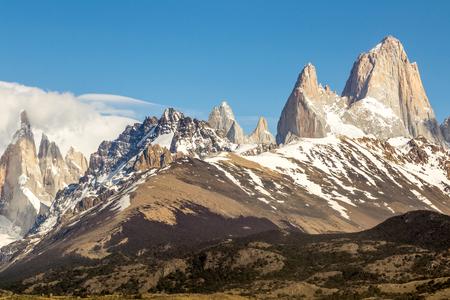 fitz: Mont Fitz Roy - Argentina Stock Photo