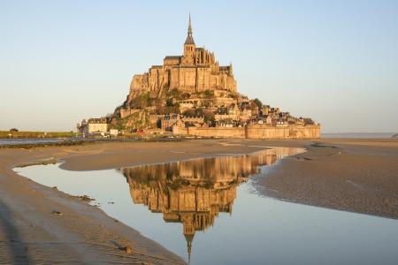 mont: Mont St Michel - France