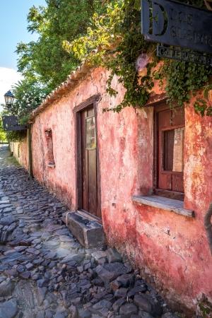 colonia del sacramento: Pink House - Colonia del Sacramento