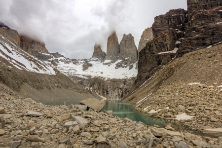 Torres del Paine towers - Chile photo