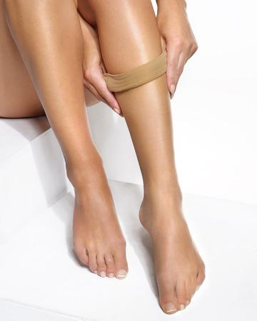 pies sexis: medias