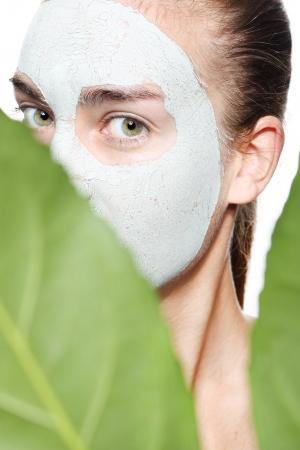 green mask Stock Photo - 23458997