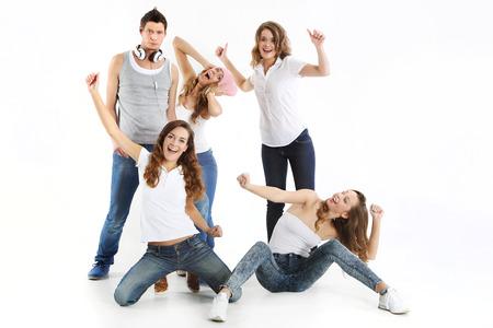 gente loca: Grupo de jóvenes locos