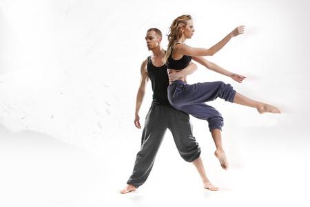 danza contemporanea: La danza moderna Foto de archivo