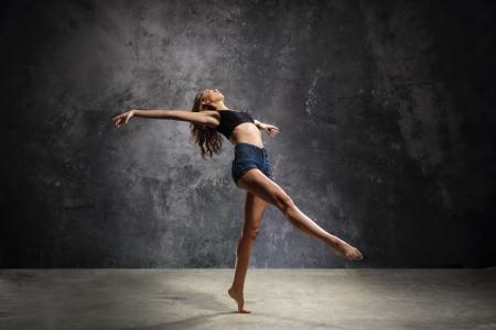 danza moderna: Bailarín agraciado