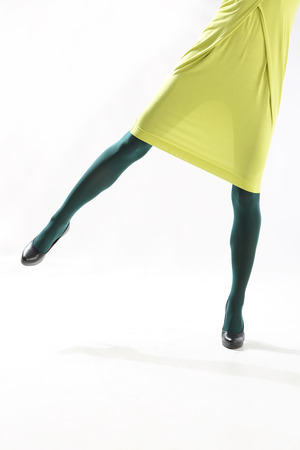 Colored tights photo