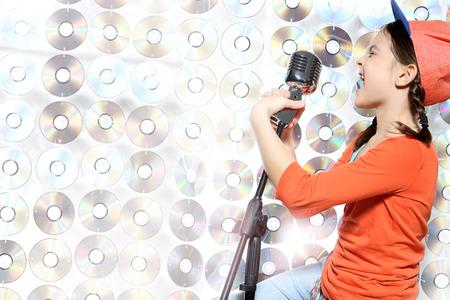 Karaoke hip-hop star  photo