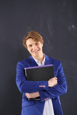 Accountant with a file  photo