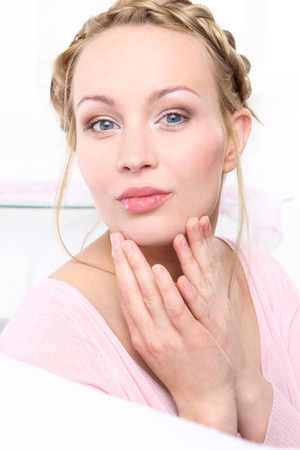 Signs of skin aging  photo