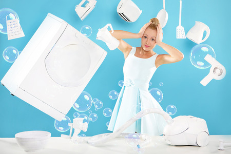 Women s duties - cooking , washing, ironing