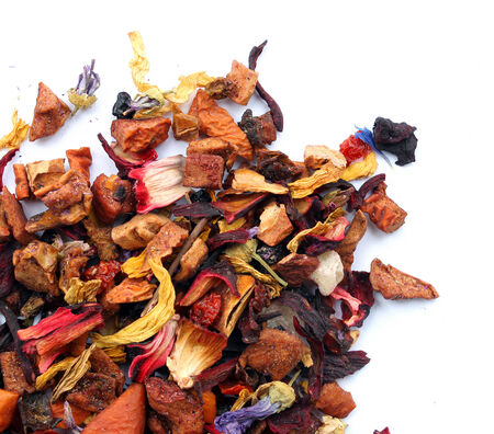 Coloured tea   composition of the color of tea photo