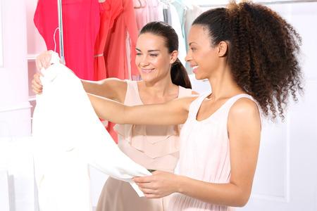 bargains: Hunting for bargains, women shopping
