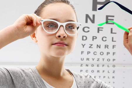 Child an ophthalmologist