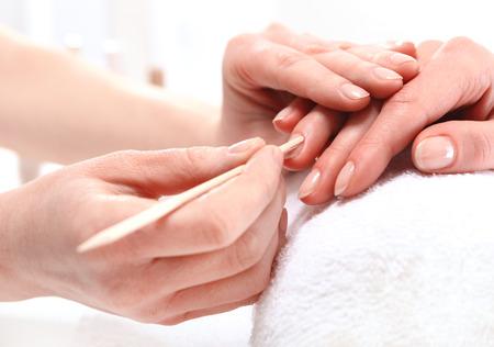 toothpick: Beauty salon, manicure