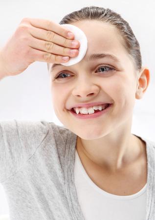matures: Teenager, facial skin care