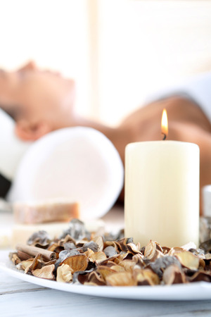 Aromatherapy, relaxation in the wellness