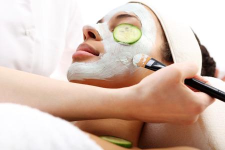 health resort treatment: Care treatment in the beauty salon
