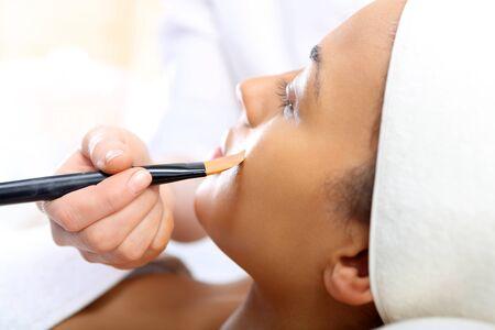 make up artist: Make up artist, makeup professional in the beauty salon