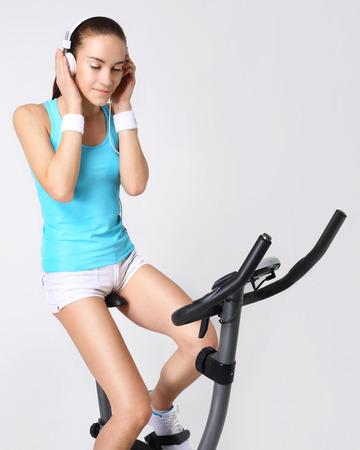 Capacitación sobre el deporte de la bici y la recreación
