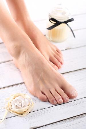 pies bonitos: Stupas de spa de lujo pies femeninos .beautiful, suave y limpio