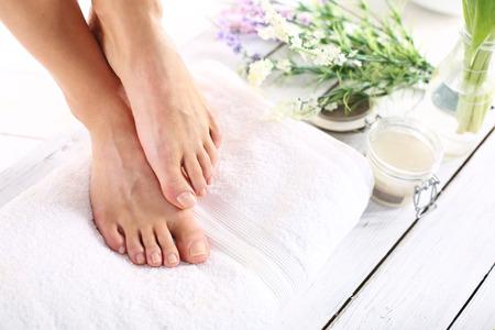 Women39s Füße Lizenzfreie Bilder
