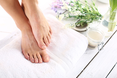 spa treatments: Women39s feet