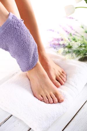 Peeling feet massage sponge