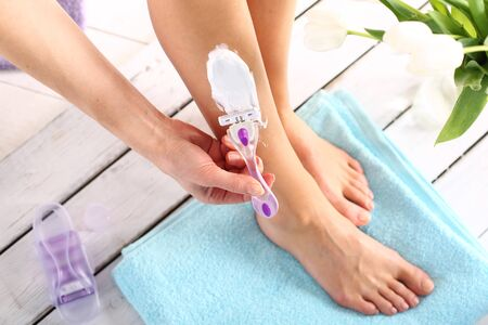 waxing: Hair Removal goals legs woman